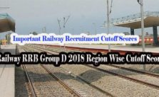 RRB Group D Cut off marks