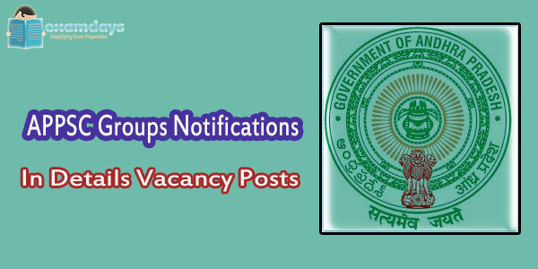 APPSC Group 2 Group 3, 4 VRA VRO DSC Panchayat AE AEE Posts Notification Details